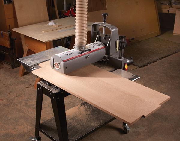 SuperMax 19-38 Drum Sander - Popular Woodworking Magazine