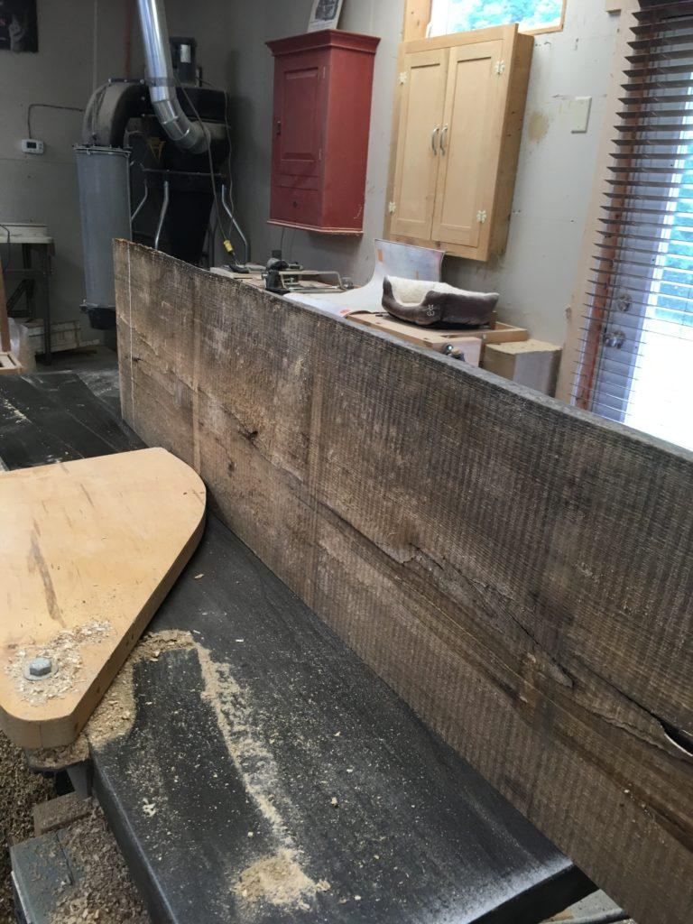milling livesawn lumber