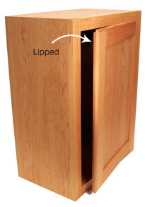 Lipped Doors fit halfway inside the opening because the back edge is rabbeted. When the door is closed the lip covers the opening.  sc 1 st  Popular Woodworking Magazine & Buying Euro Hinges - Popular Woodworking Magazine