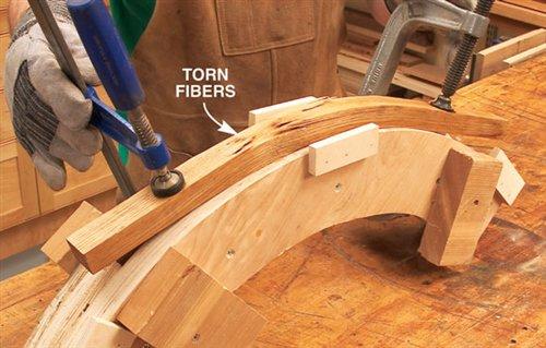 Steam Bent Music Stand - Popular Woodworking Magazine