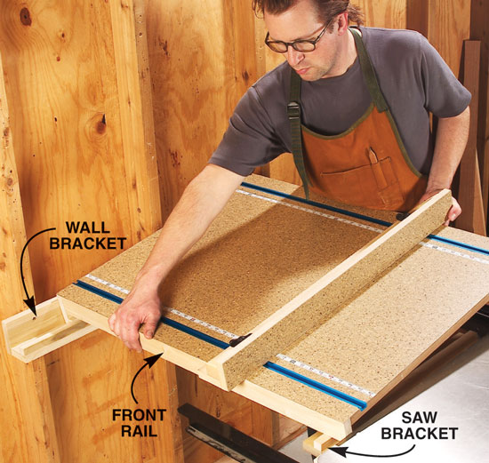 Tablesaw extension popular woodworking magazine to make wide cuts i simply install a shop made extension that bridges my keyboard keysfo Choice Image
