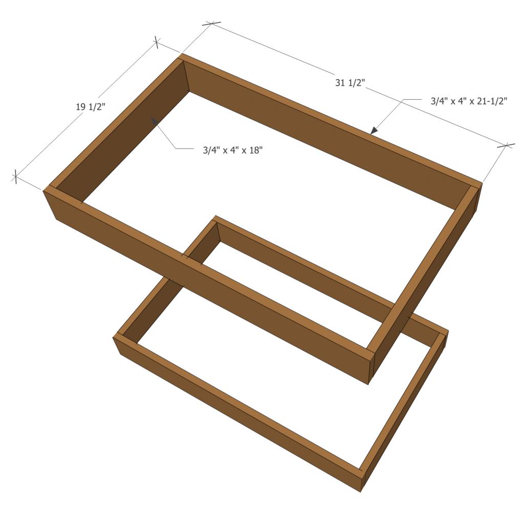 Step 2: Make two frames