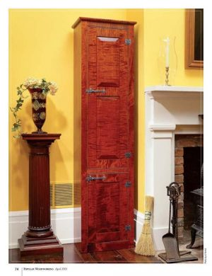 Colonial Chimney Cupboard-0