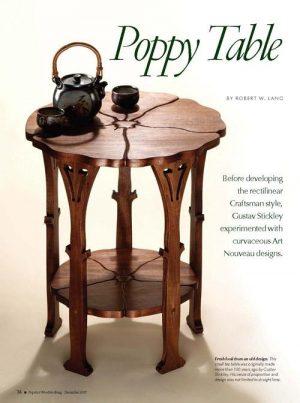 Gustav Stickley Poppy Table Digital Download-0