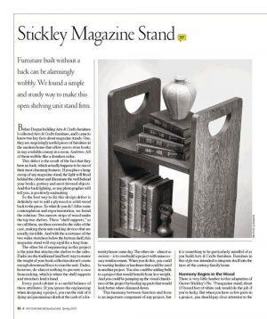 Stickley Magazine Stand Digital Download-0