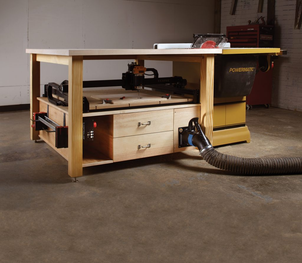 Cnc Outfeed Table