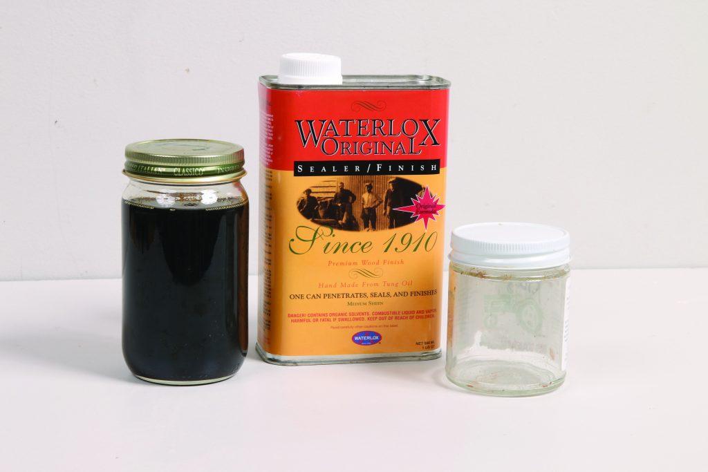 waterlox in a jar