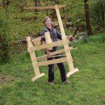 Roy Underhill's Double Spring Pole Lathe