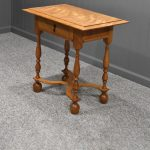 William & Mary Table with Drawer