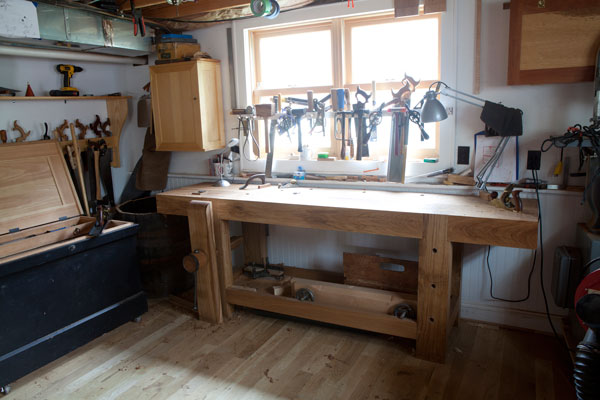 Why you shouldn't worry about standard workbench height when building a workbench.