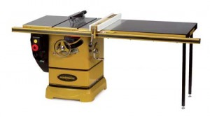 The Powermatic PM2000, one of the best table saws on the larger end of the range.