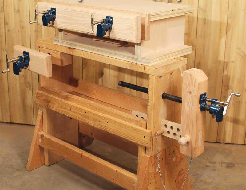 3 Classic Vises made with Pipe Clamps | Popular ...