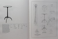 Shaker Round Stand - Page194 of The Book of Shaker Furniture by John Kassay