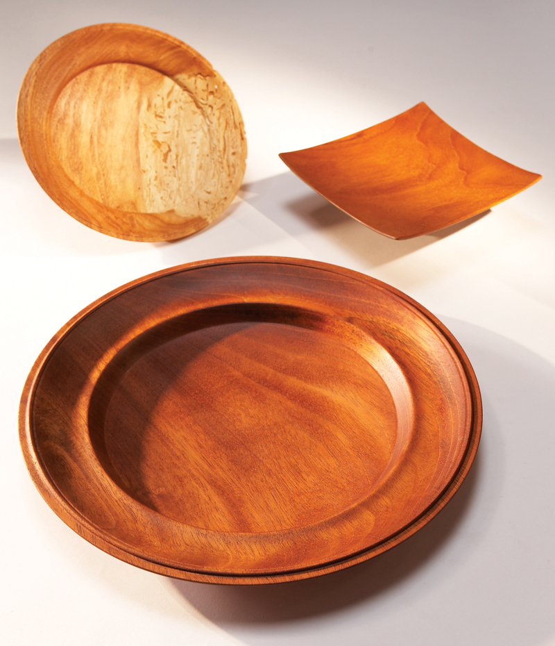 & Turning Wood: Wooden Plates - Popular Woodworking Magazine
