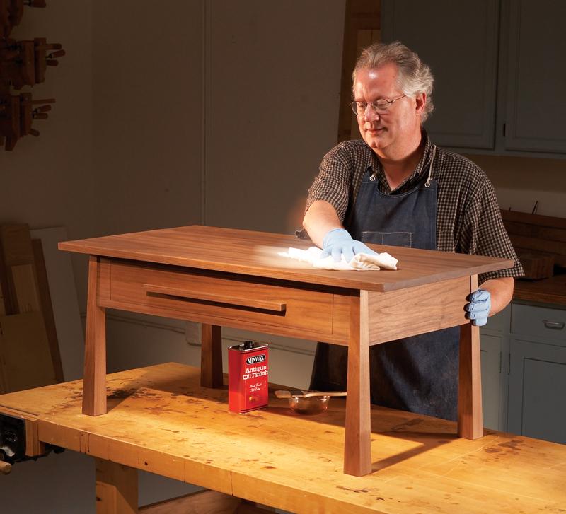 Walnut Coffee Table - Popular Woodworking Magazine