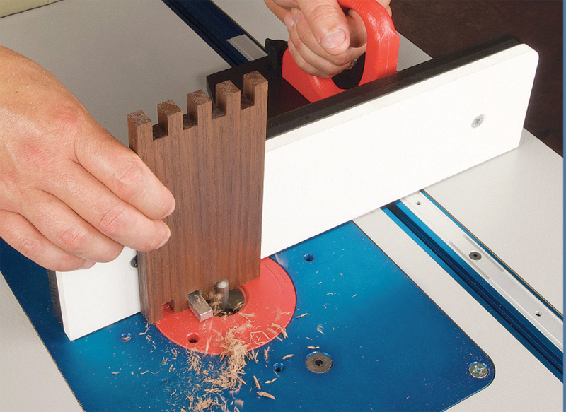 Well-Equipped Shop - Router Table Box Joints - Popular ...
