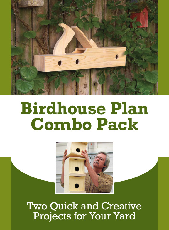 Download these free birdhouse plans