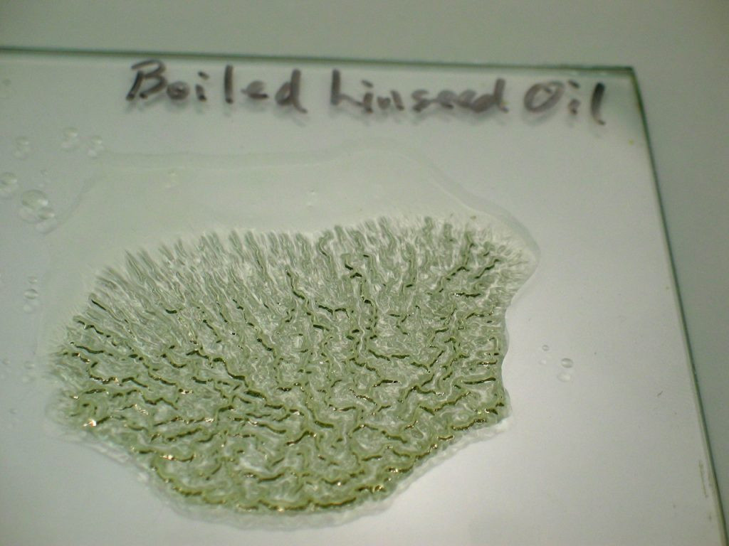vboiled linseed oil