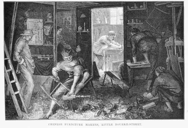 Chinese-furniture-makers,-Little-Bourke-Street,-The-Australasian-Sketcher---April-24-1880