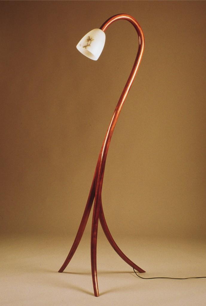 Bentwood Laminated Lamp
