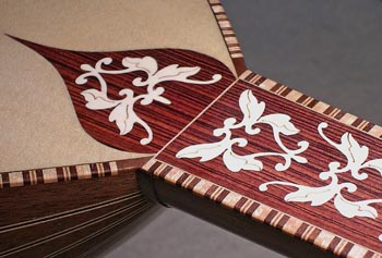 Double-bevel marquetry can add beauty to any woodworking project.