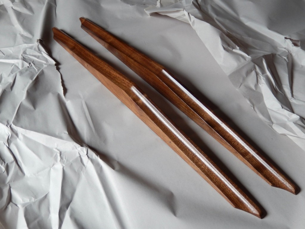 New Handles For a Mid-Century Walnut Dresser B5