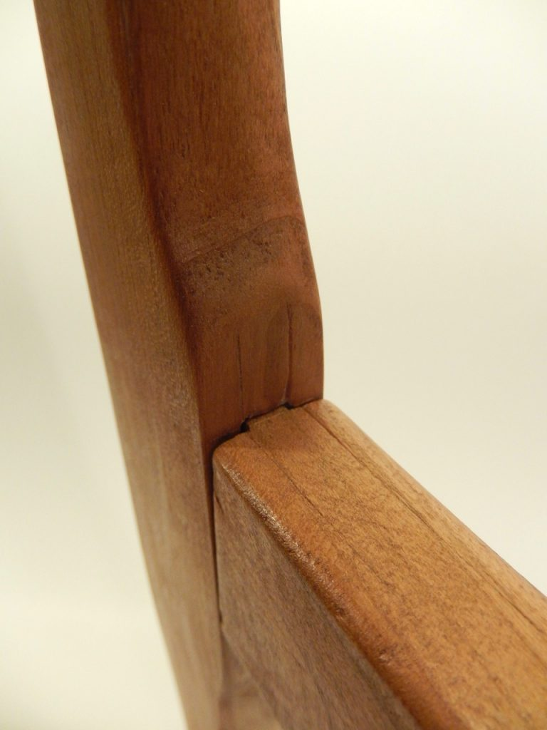 "Julia's ""Horses"" saw , Mortise & Tenon detail"