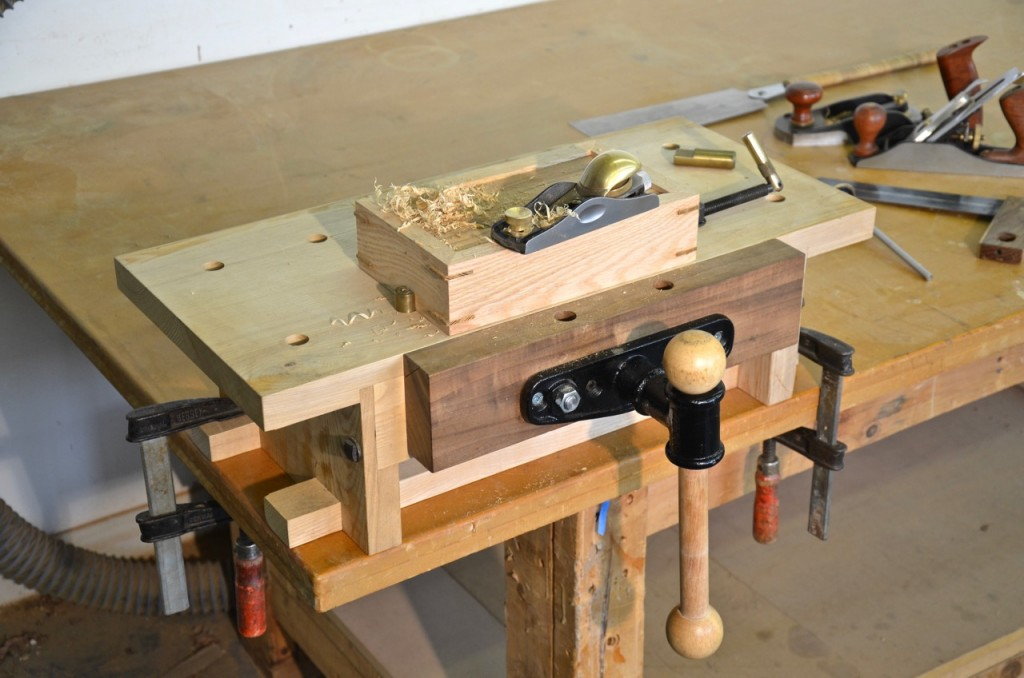 This is the Portable Workbench that I built a few years ago and was feature in American Woodworker #171, April/May 2014