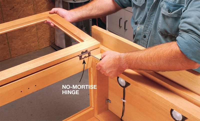 How To Install Cabinet Doors Hinges - Monsterlune