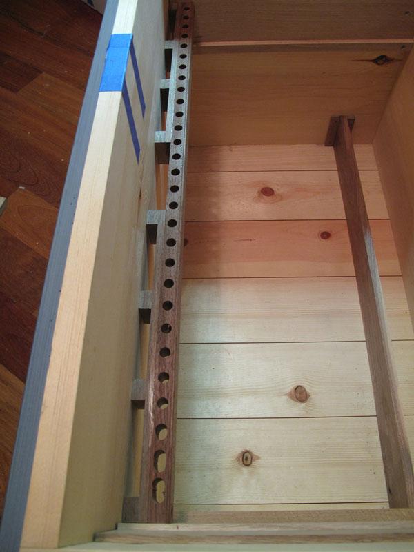 Saw storage