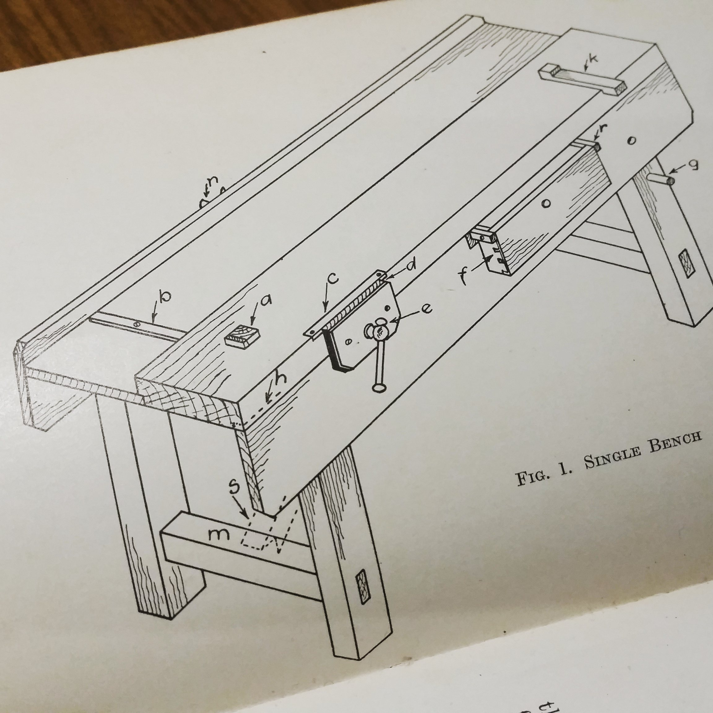 A Classic Joiner\'s Workbench