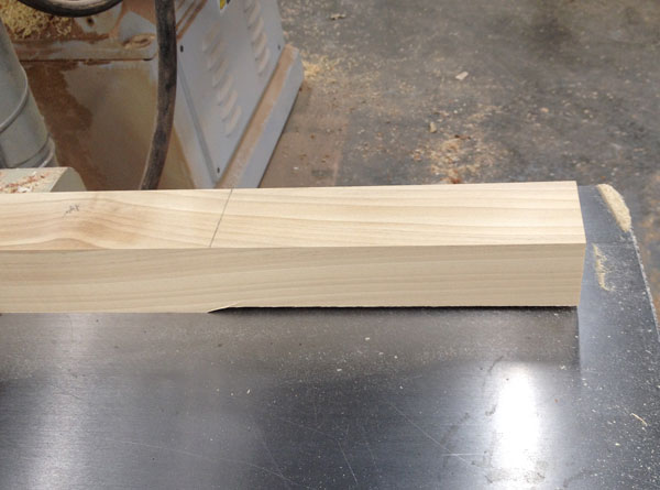 jointer tapered legs