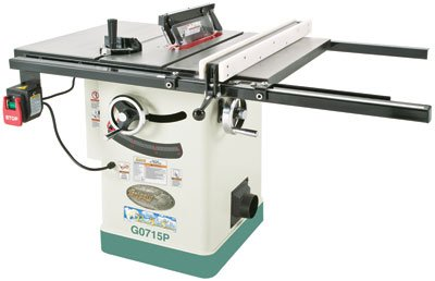 """Grizzly G0715P 10"""" 2 hp hybrid table saw"""