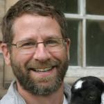 Peter Galbert (and his favorite goat)