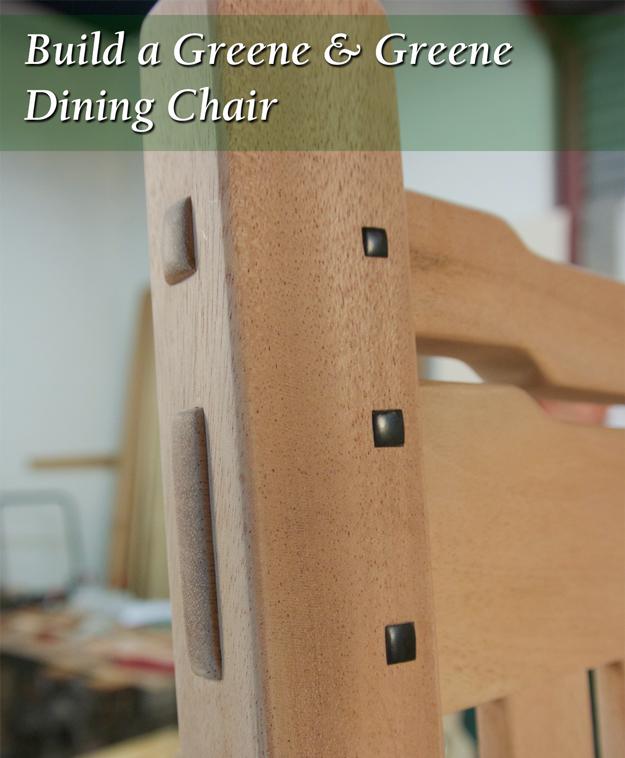 greene & greene dining chair