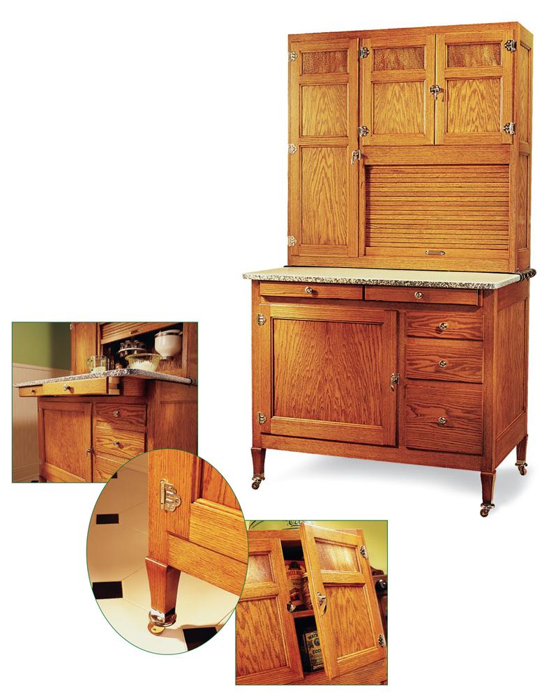sc 1 st  Popular Woodworking Magazine & Hoosier Cabinet - Popular Woodworking Magazine