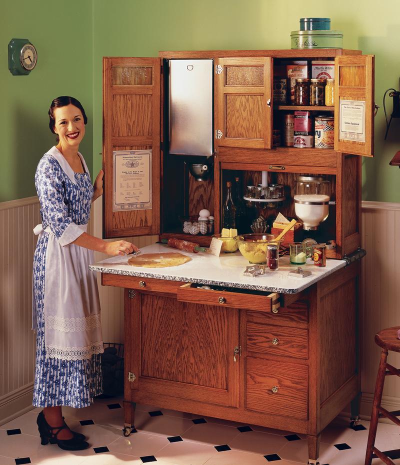 Hoosier Cabinet  sc 1 st  Popular Woodworking Magazine & Hoosier Cabinet - Popular Woodworking Magazine