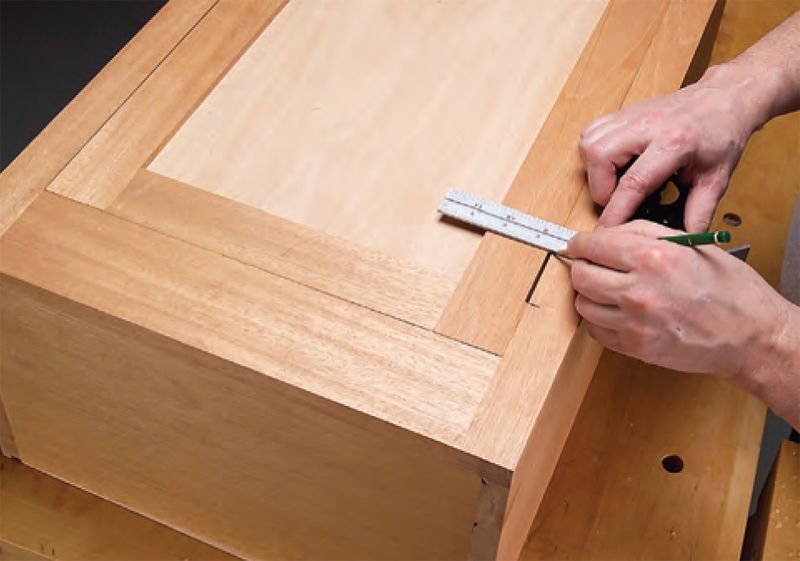 Rout Mortises In The Door Stile. Locate The Mortise At Least One Hinge  Length From The Top. Because Of Its Small Size, A Laminate Trimmer Works  Great For ...