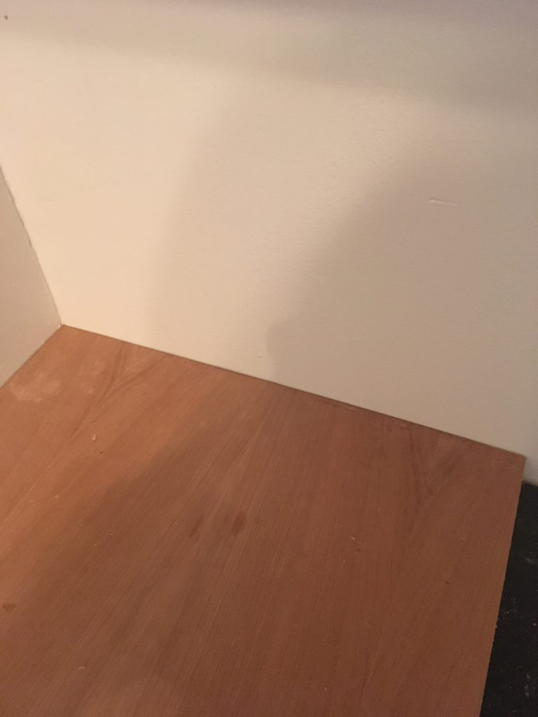 Linoleum counters