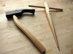 Adze and tapered reamer, two chairmaking tools you have to own for traditional Windsors.
