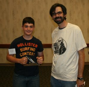 Christopher Schwarz and Jalen. Inspiration for young woodworkers!
