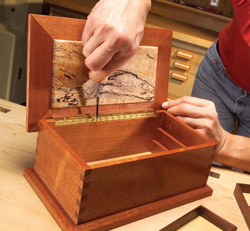 AW Extra 3/7/13 - Treasured Wood Jewelry Box - Popular Woodworking Magazine