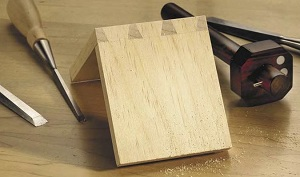Frank Klausz makes dovetails look easy.
