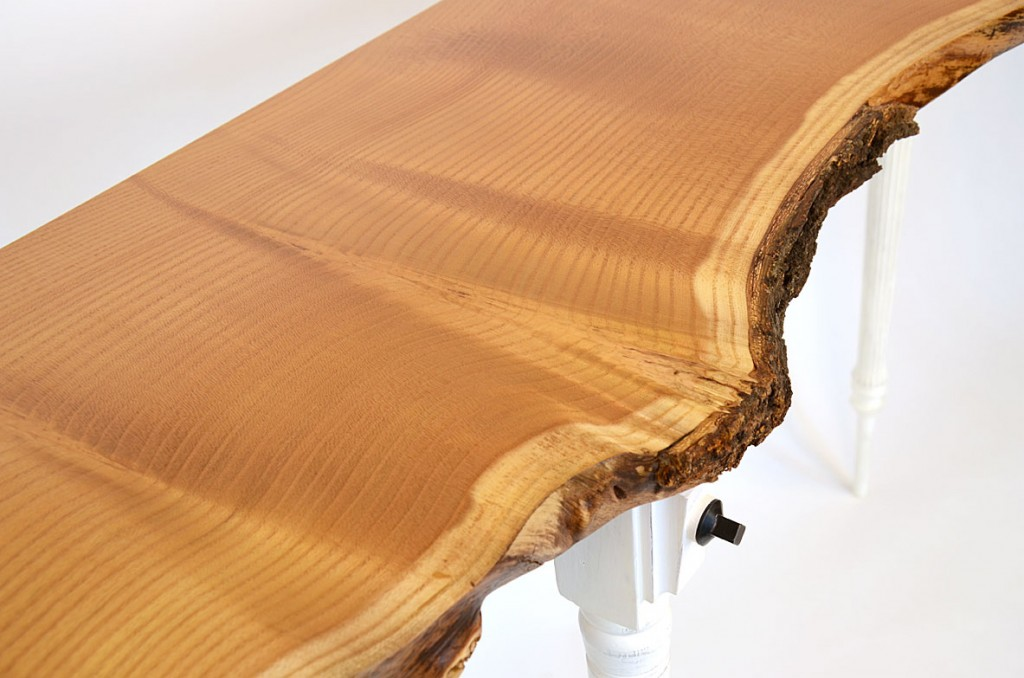 Mulberry Trio, console table, detail