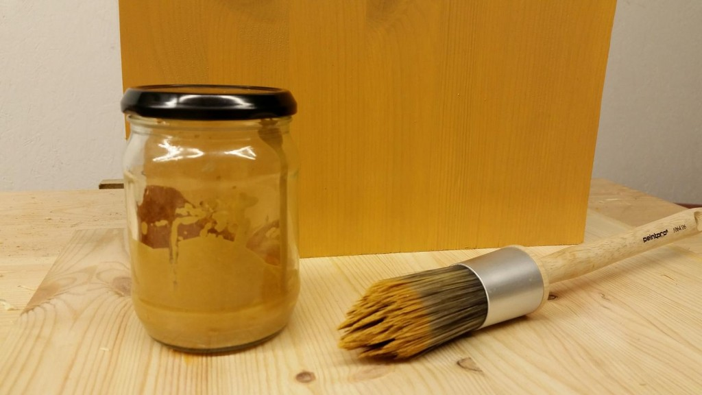 Making Linseed Oil Paint Cover
