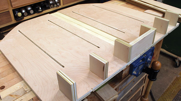 don t just make a table saw sled make a megasled rh popularwoodworking com table saw sled runners table saw sled youtube