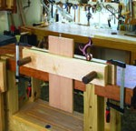 A Moxon vise is a handy addition to any woodworking workshop.