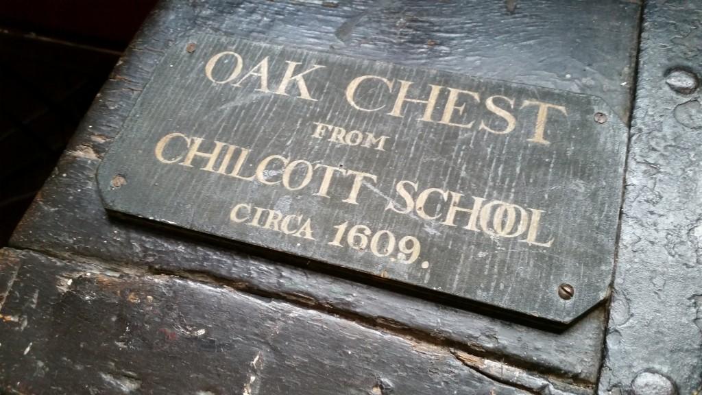 museum Oak Chest
