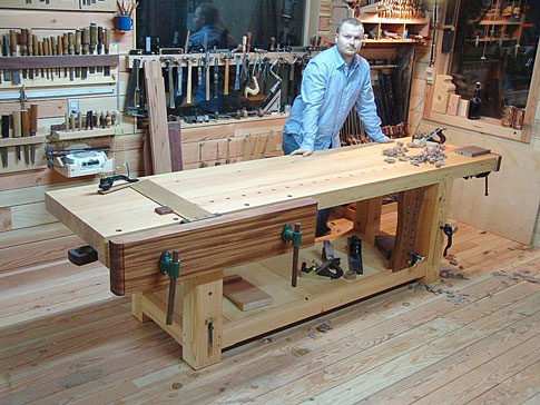James Oliver's Workbench and Shop - Popular Woodworking ...