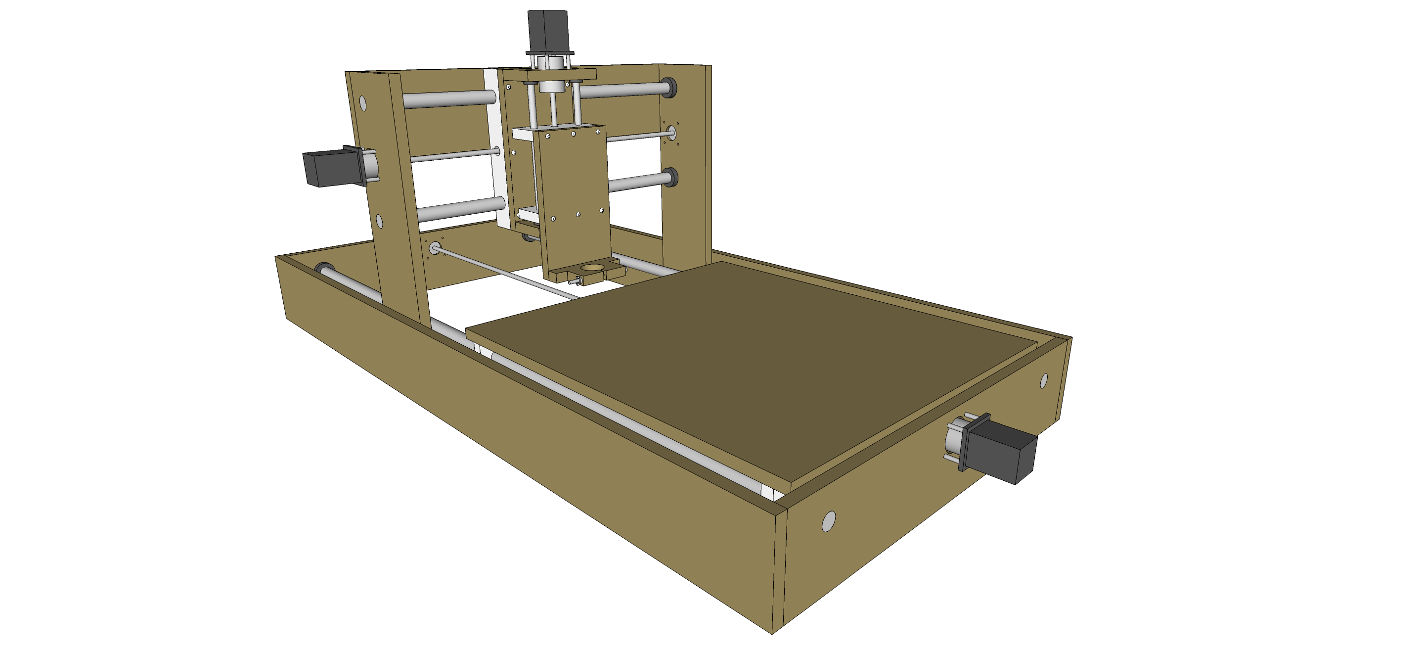 how to build a model cnc